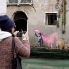 Банкски потвърди, че появилият се стенопис във Венеция е негов (Снимки)