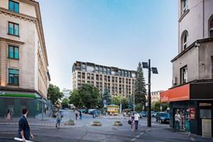 """Визуализация на проекта за нова сграда на мястото на хотел """"Рила"""""""