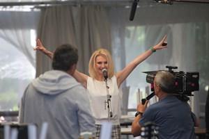 """Лилия Маравиля в """"Голата истина за група """"Жигули"""" СНИМКА: СТОЯН ГРЕБЕНАРОВ"""