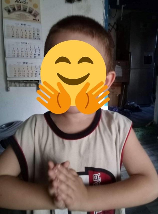 На момченцето наскоро му е открита астма