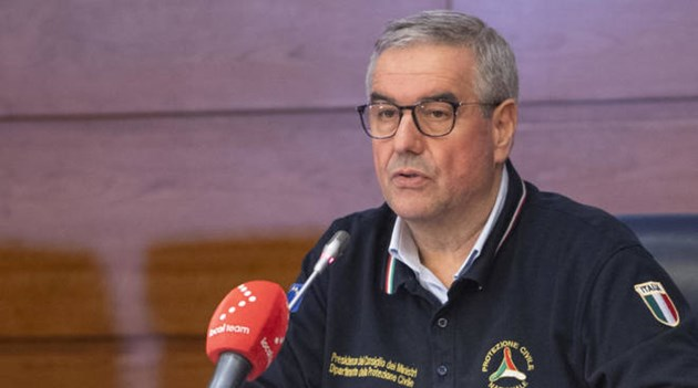 Началникът на Службата за гражданска защита на Италия Анджело Борели е развил симптоми на COVID-19