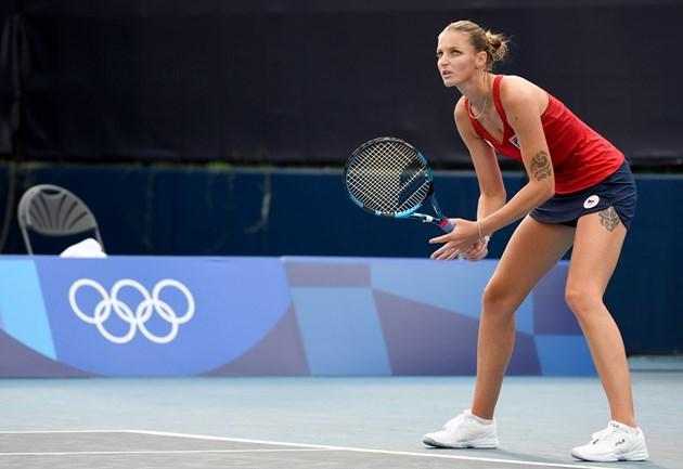 Дългокраката Плишкова е секссимвол в тениса