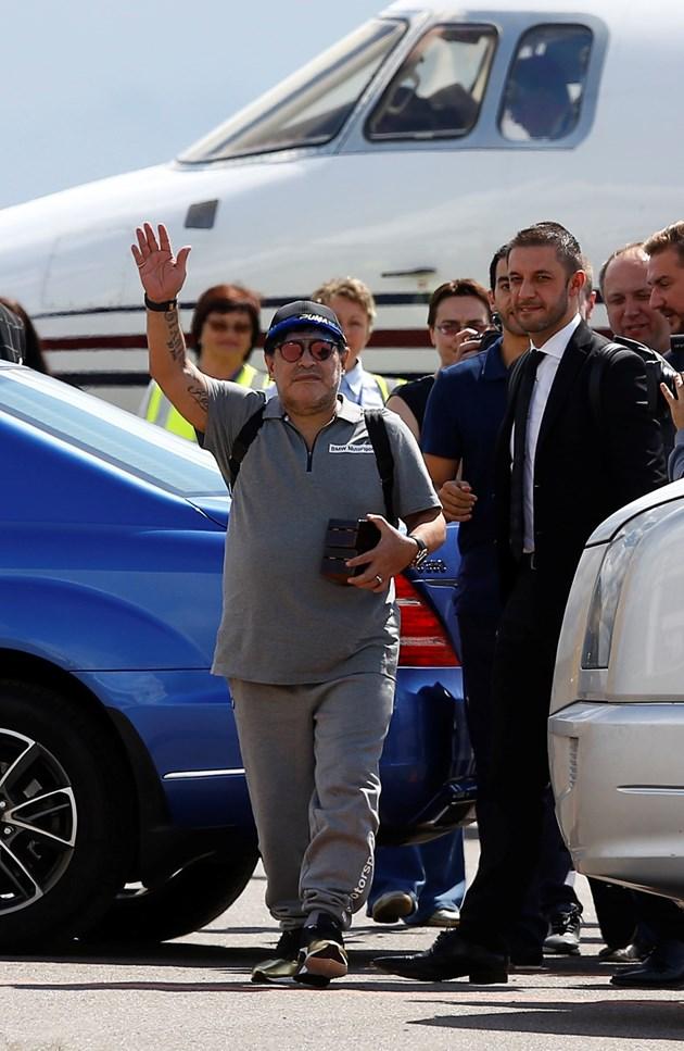 Марадона: Дрогатаме разсипа