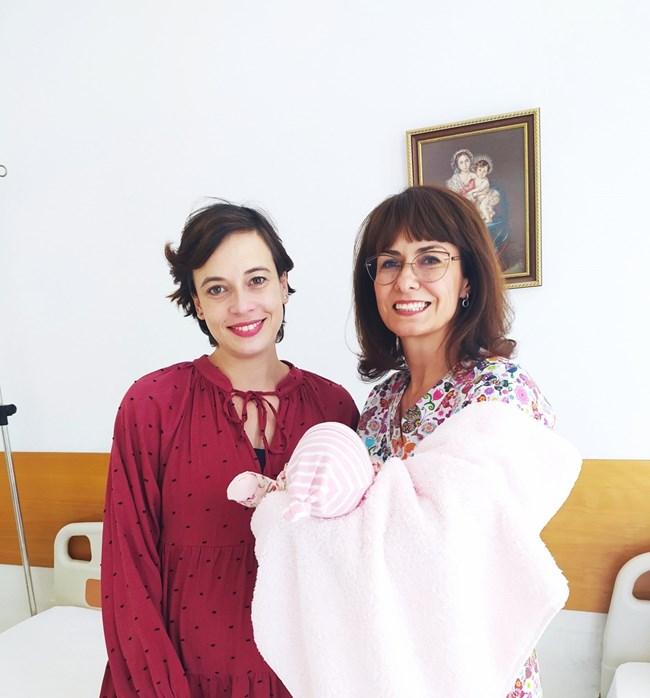 Весела Бабинова с д-р Лекова и дъщеря си Йоана