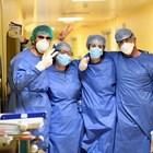 ФОТОГАЛЕРИЯ - Медицинските работници в Италия на първа линия в борбата с COVID-19