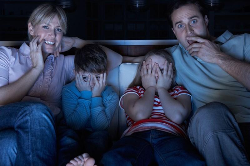 Не гледайте филми на ужасите преди лягане.