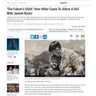Продадоха на търг за 11 520 долара снимка на Хитлер, на която целува еврейско дете