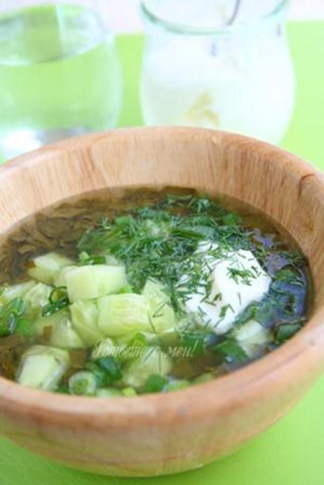 Студена супа от лапад