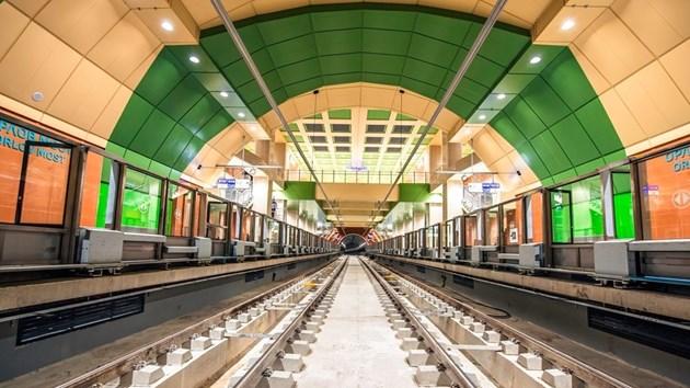 """Вижте как изглежда новата метростанция """"Орлов мост"""" (Видео, снимки)"""