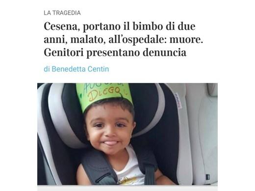 Разследват смъртта на двегодишно българче в болницата на Болоня