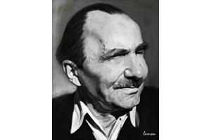 Писателят Никос Казандзакис
