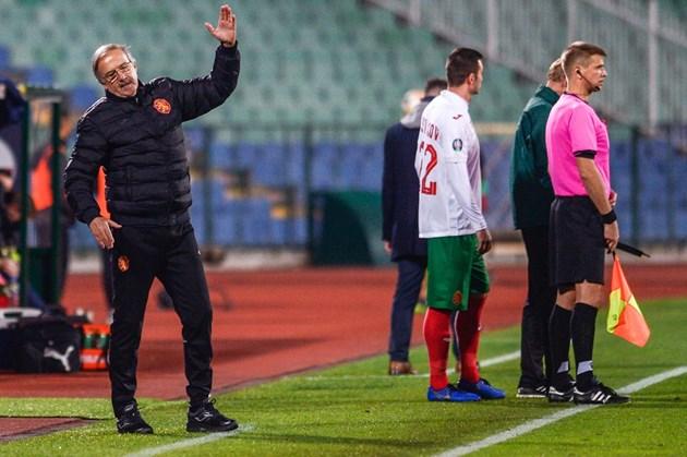 Дерменджиев е умерен оптимист за националния отбор