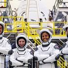 Космическите туристи кацнаха