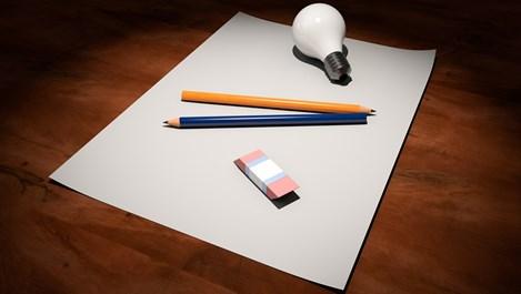 Необичайни употреби на молива и гумичката в домакинството