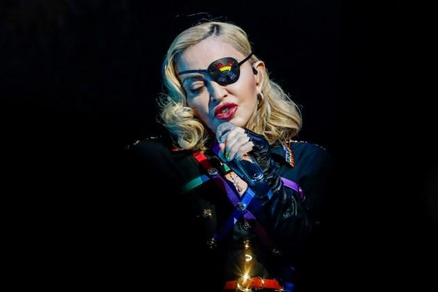 Мадона отмени свой концерт в Лондон