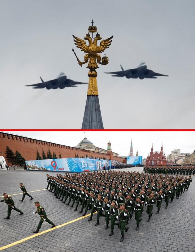 Парад в Москва