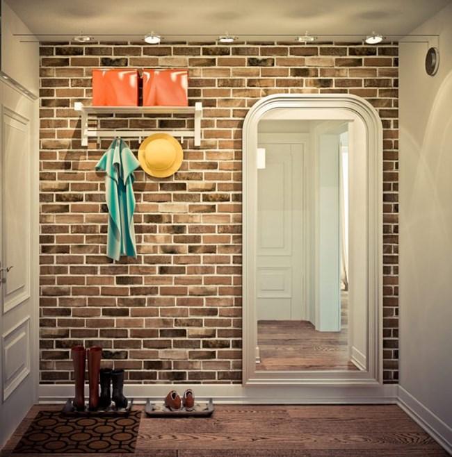 Антрето и банята също имат собствен стил