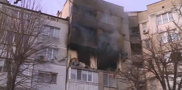 Теч на газ взривил блока във Варна