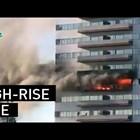 Гори сградата, в която живее бг консулът в Лос Анджелис (Видео)