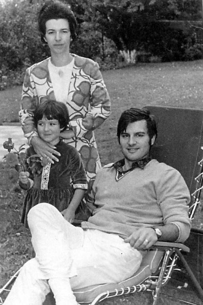 Иван Славков и Людмила вече са семейство. Дъщерята Жени е от първия є брак с Любомир Стойчев