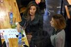 Саня Борисова на  коктейл по женски