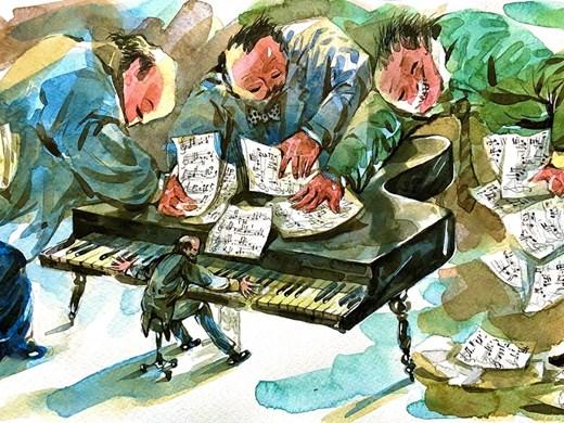 Правителство на малцинството - вижте как го нарисува Анри Кулев