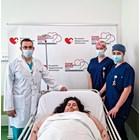 Втори живот за 250-килограмовата Кирилка след пет часа операция