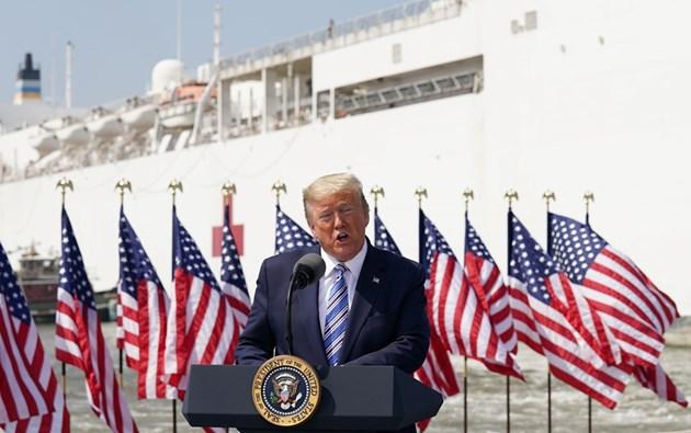 Тръмп обмисля поставянето на някои щати под карантина