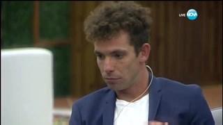 Явор Бахаров е принудително отстранен от Big Brother